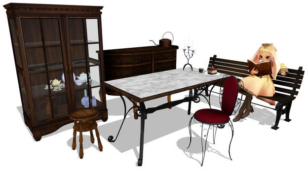 アンティーク調な家具v1.9