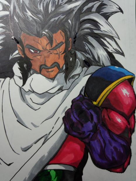 超サイヤ人4 パラガス