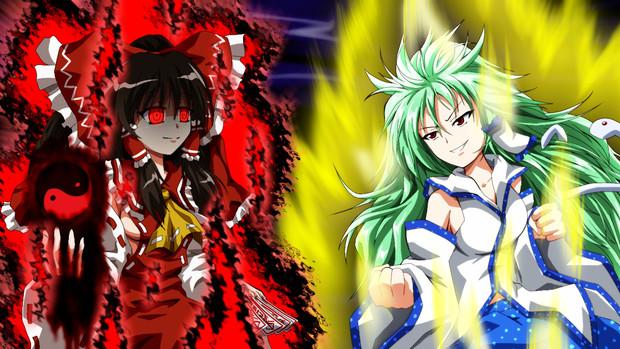 鬼巫女vs超東風谷人