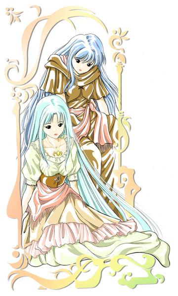 フィーナとレア
