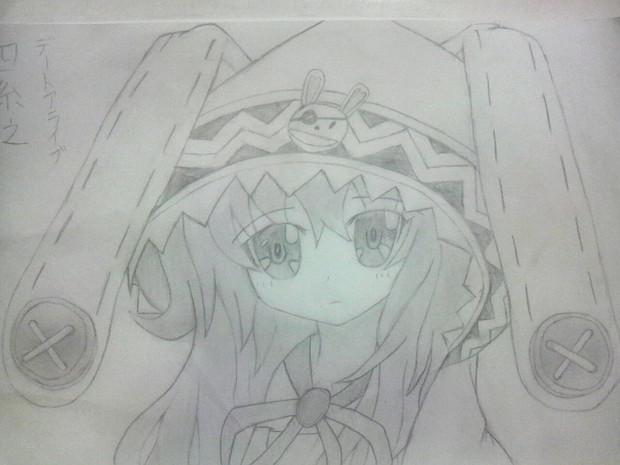 [シャーペン]四糸乃ちゃんを描いてみた