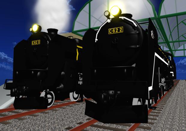 C62蒸気機関車2号機&3号機お試し版配布開始