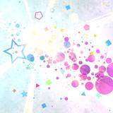 【フリー素材】diagrammatical bubble