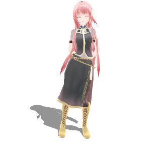 【GIFアニメ】 Luka Swings