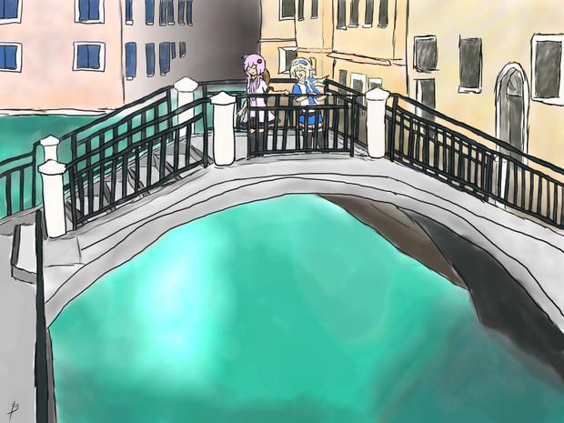 【ファンアート】ゆかりさんと休日【inヴェネツィア】