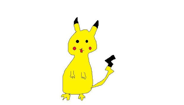 一番最初に書いたマウス絵wピカチュウ kyo At ちーちゃん さんの