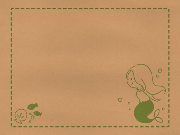 壁紙 人魚姫