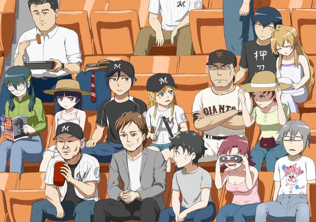 俺が家族+αと野球観戦に行くわけがない