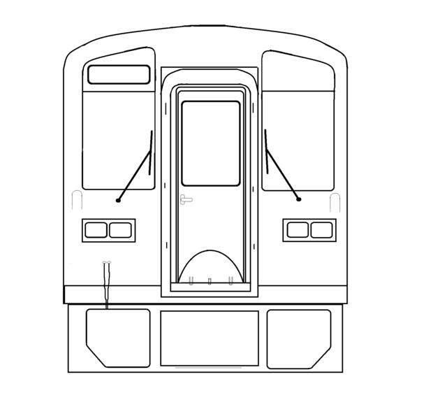 鉄道塗り絵初心者でもok 大角豆洋汰 さんのイラスト ニコニコ