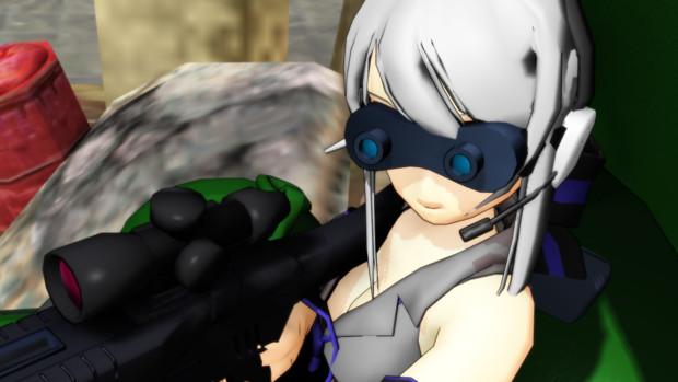 【MMD】対AT狩り【配布】
