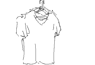 動くTシャツのアニメーション
