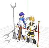 【MMD】如意棒・錫杖