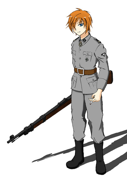 オリキャラでナチス親衛隊