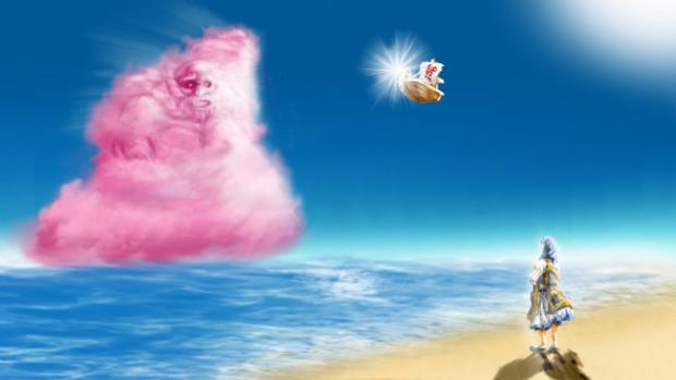 【第5回東方ニコ童祭ED絵募集】 星蓮船の夏