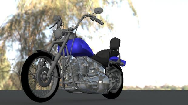 バイクを作ってみた