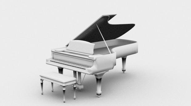 ピアノ モデリング練習