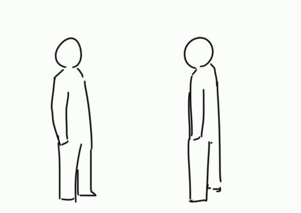 【GIFアニメ】蹴り