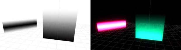 グラデーション発光システム