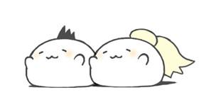(っ´ω`(´ω`c)gifアニメ