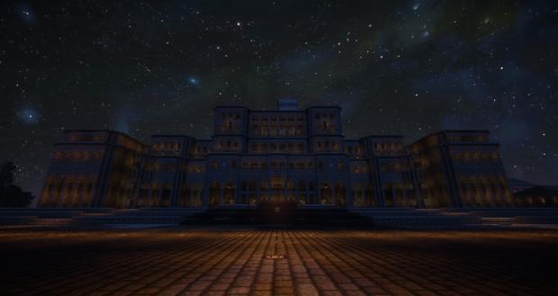 Minecraft ~宮殿を建築(夜&ジョンスミス)~