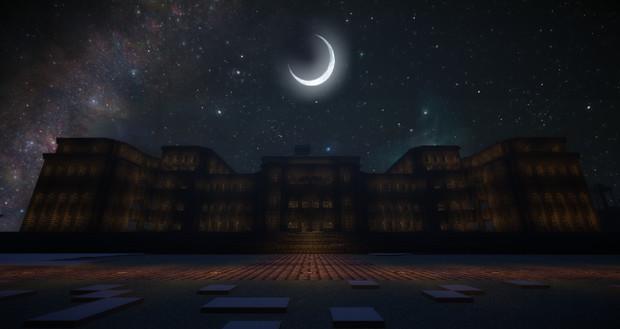 Minecraft ~宮殿を建築(夜&ジョンスミス)~ 裏口