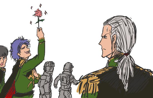 ガンダムラクガキ ガトー少佐とマシュマーさん