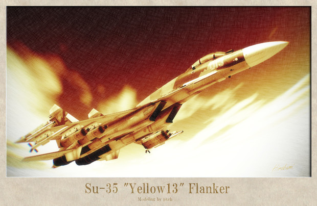 "Su-35""Yellow13""Flanker"