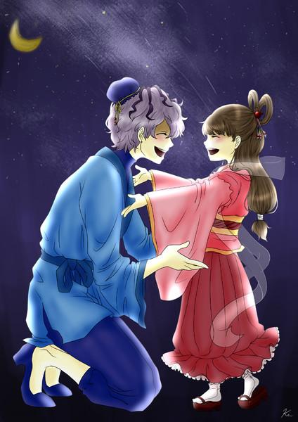 織姫と彦星 めあkrn さんのイラスト ニコニコ静画 イラスト