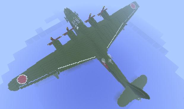 【Minecraft】二式大艇