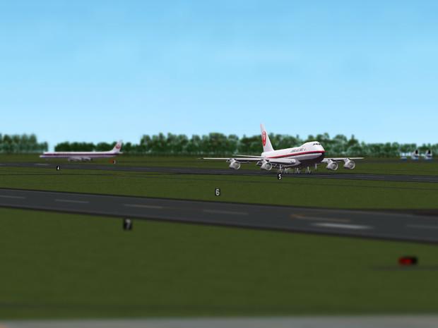 日本航空 747