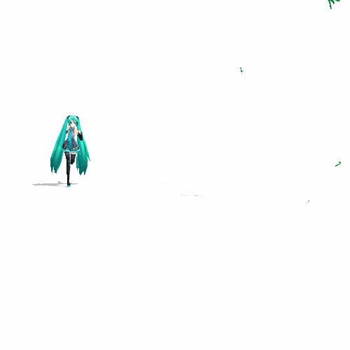 【GIFアニメ】 Iron Miku