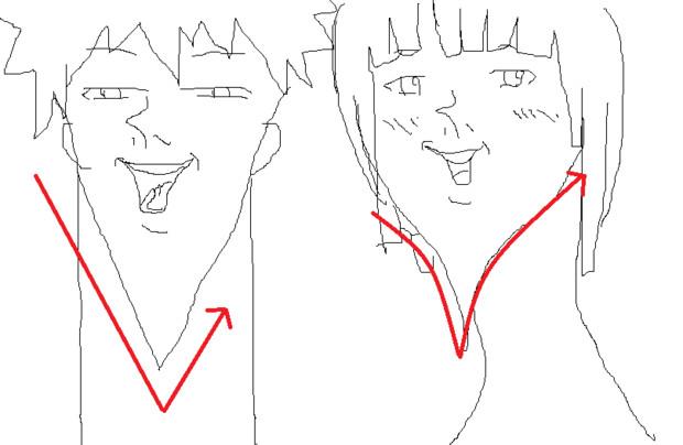 お絵かき講座輪郭の描き方 Dan さんのイラスト ニコニコ静画