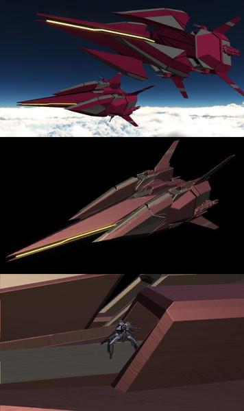【MMD】オリジナル戦艦 オルトロス【モデル配布あり】
