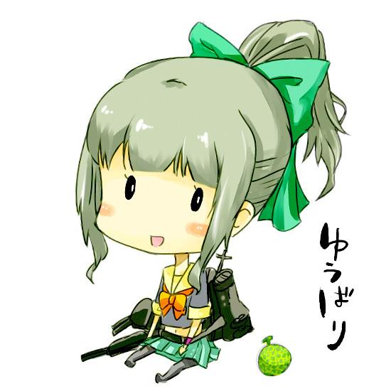 """夕張型1番艦""""ゆうばり"""""""