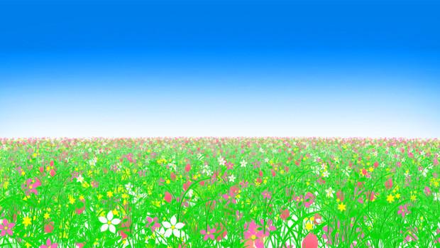 花畑エフェクト0番の更新後はこんなです