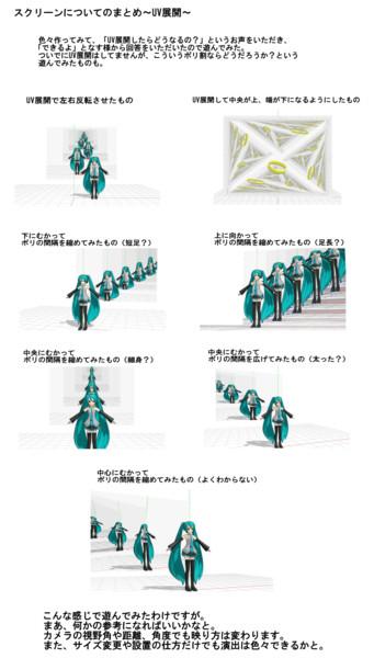 スクリーンについての実験結果 ~その3~【スクリーン配布】