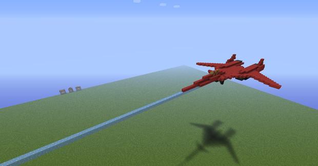 【Minecraft】ADF-01ファルケン