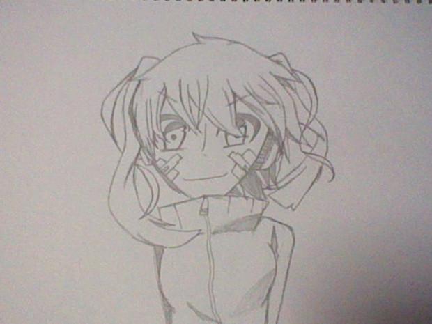 エネちゃん模写(^ω^)