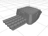【モデル配布】92式4連装魚雷発射管4型