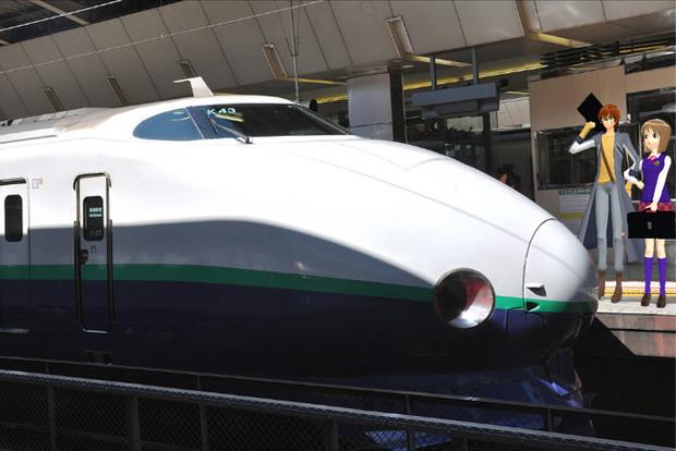 [MMD] 新幹線駅スペシヤル #1