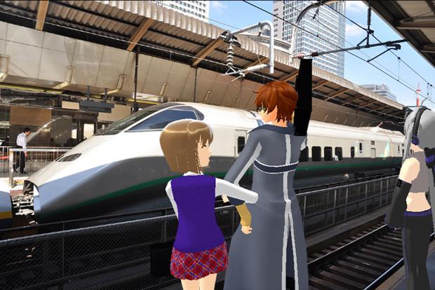 [MMD] 新幹線駅スペシヤル #2