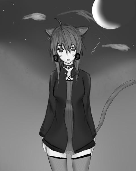 夜[白黒]