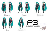 P3 male pose pack