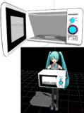 【MMDモデル配布あり】電子レンジ【卵は入れちゃダメ】
