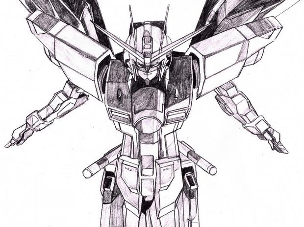 【描いてみた】 フリーダム 【X10A】