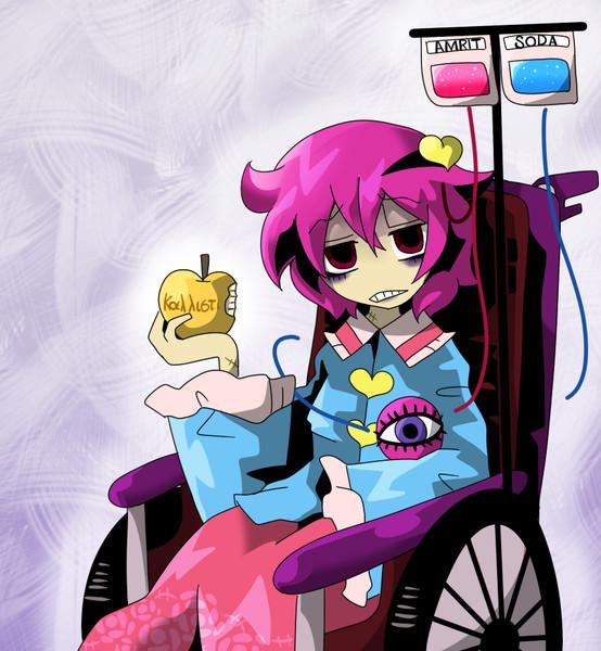 車椅子探偵さとりの栄養補給