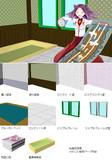 【MMD】艦これ風 提督執務室 ver0.2【背景モデル配布】