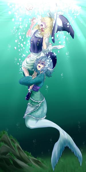 溺れる溺れる!
