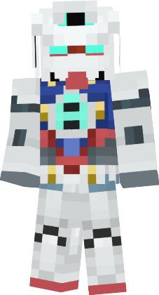 【Minecraft】ガンダムAGE-1ノーマル スキン【機動戦士ガンダムAGE】