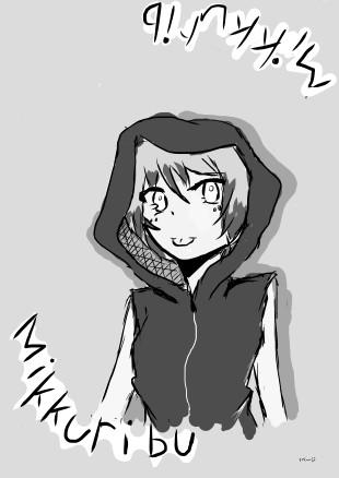 【Mikkuribuさんを】描いてみた【(*´ω`*)】